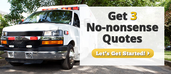 Get 3 No-Nonsense Ambulance Insurance Quotes