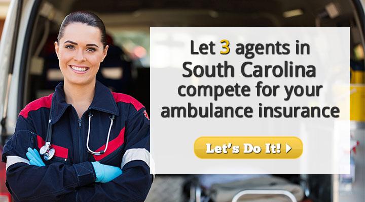 South Carolina Ambulance Insurance Quotes
